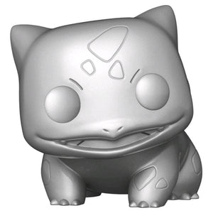 Pokemon - Bulbasaur Silver Metallic 25th Anniversary Pop! Vinyl