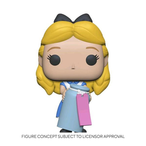 Alice in Wonderland - Alice with Bottle 70th Anniversary US Exclusive Pop! Vinyl