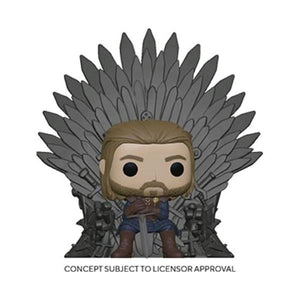 Game of Thrones - Ned Stark on Throne Pop! Deluxe