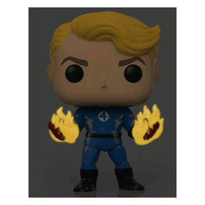 Fantastic Four - Human Torch Suited Glow Pop! Vinyl