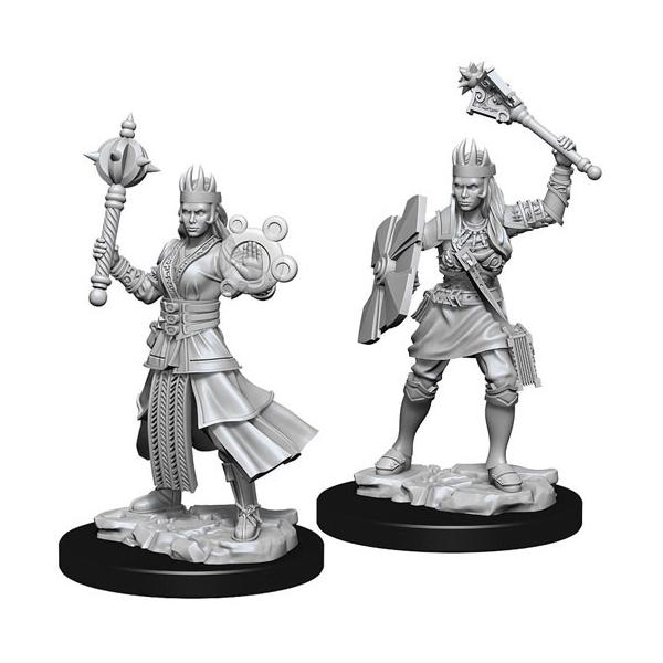 D&D - Unpainted Female Human Cleric