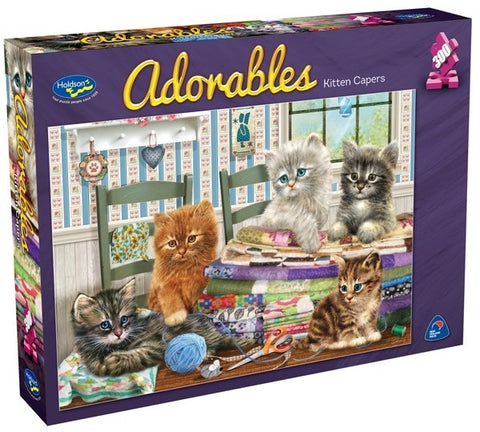 HOLDSON - ADORABLES KITTEN CAPERS 300pcXL Puzzle