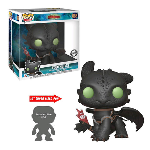 "How to Train Your Dragon 3: The Hidden World - Toothless 10"" US Exclusive Pop! Vinyl"