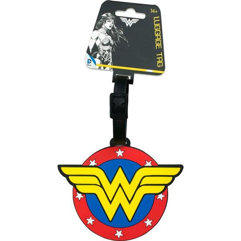 Wonder Woman - Logo Luggage Tag