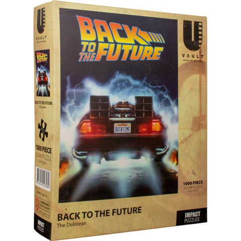 Impact - Back To The Future - The Delorian 1000pc Puzzle