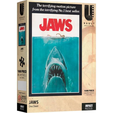 Impact - Jaws One Sheet-1000pc Puzzle