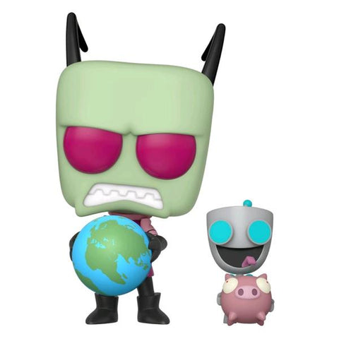 Invader Zim - Zim & GIR US Exclusive Pop! Vinyl