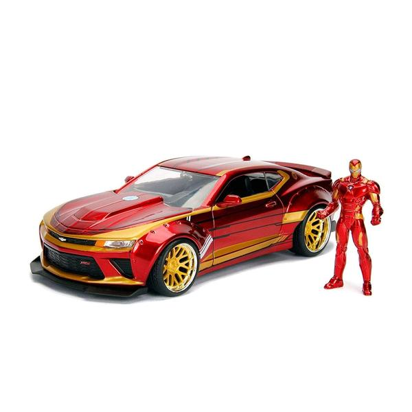 Iron Man - 2016 Chevy Camero SS 1:24 Scale Hollywood Rides Diecast Vehicle