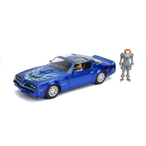 It (2017) - 1977 Pontiac Firebird 1:24 w/Fig