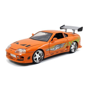 1:24 F&F Brian's Orange Toyota Supra - Fast n Furious Movie