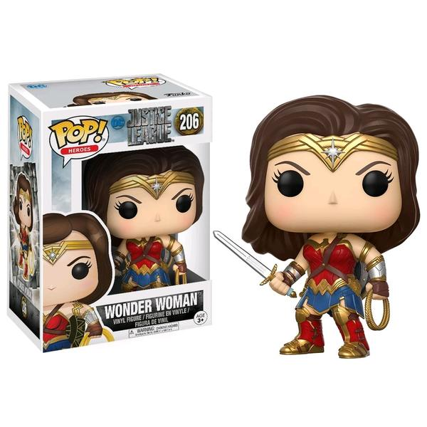 Justice League Movie - Wonder Woman Pop! Vinyl