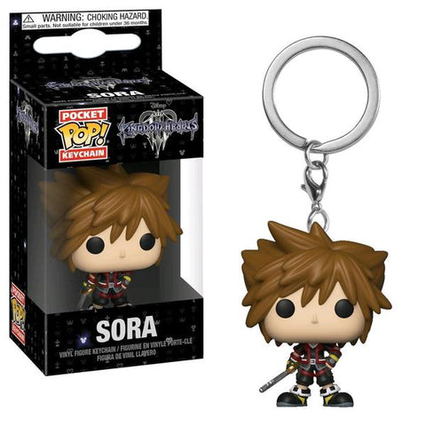 Kingdom Hearts 3 - Sora Pop! Keychain