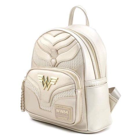 Loungefly Wonder Woman 1984 - Gold Mini Backpack