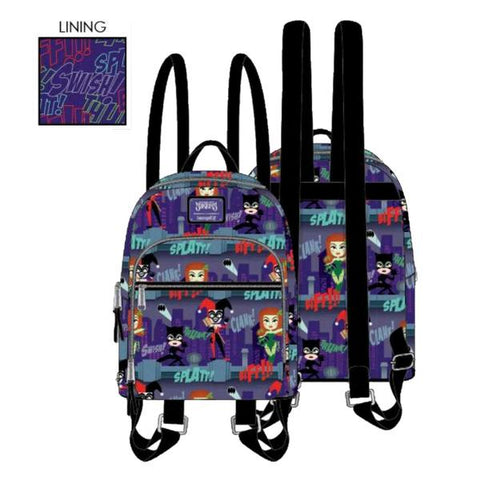 Loungefly - DC Comics - Ladies of DC Mini Backpack