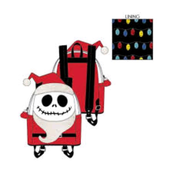 Loungefly - The Nightmare Before Christmas - Jack Christmas Mini Backpack