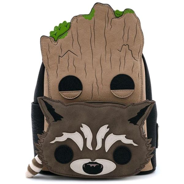 Loungefly - GOTG - Groot and Rocket Backpack