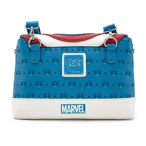 Loungefly: Captain America - Captain America Crossbody Bag