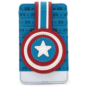 Loungefly: Captain America - Captain America Card Holder
