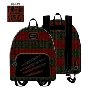 Loungefly - A Nightmare on Elm Street - Freddy Sweater Mini Backpack