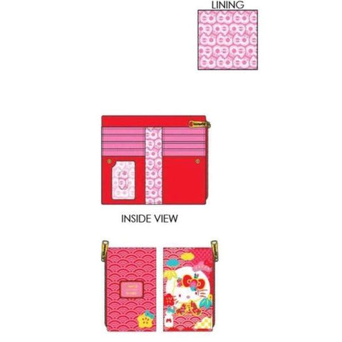 Loungefly - Sanrio - 60th Anniversary Hello Kitty Flap Purse