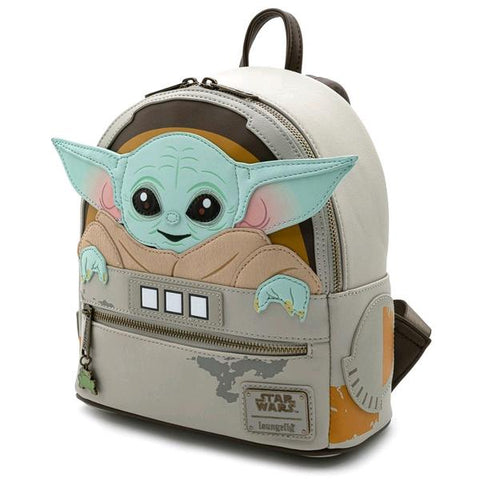 Loungefly Star Wars: Mandalorian - The Child Cradle Mini Backpack