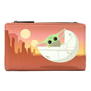 Loungefly - Star Wars: The Mandalorian - The Child Wait For Me Purse