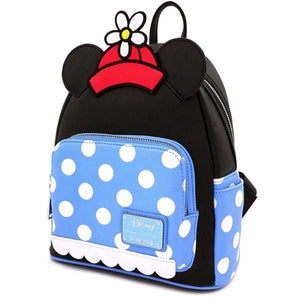Loungefly: Mickey Mouse - Minnie Polka Dot Mini Backpack