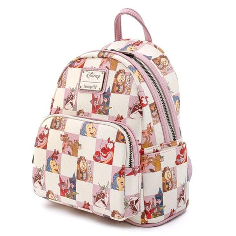 Loungefly - Disney Rose Checker Mini Backpack