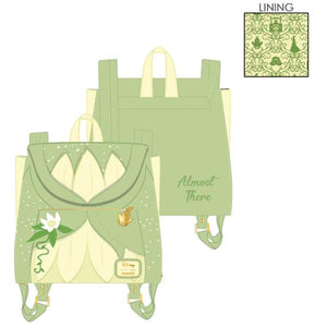 Loungefly - Priness and the Frog - Tiana Cospaly Mini Backpack
