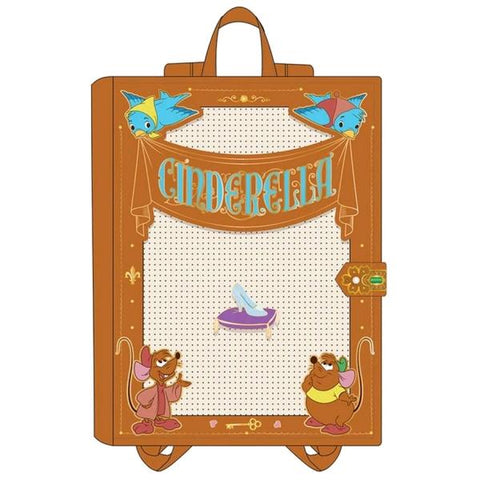 Loungefly - Cinderella - Pin Trader Backpack with Pin