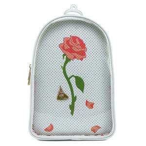 Loungefly -  Beauty and the Beast - Pin Trader Backpack with Pin