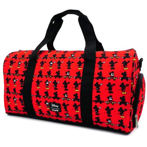 Loungefly: Mickey Mouse - Parts Duffle Bag