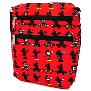 Loungefly: Mickey Mouse - Parts Passport Bag