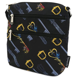 Loungefly: Kingdom Hearts - Keys Passport Bag