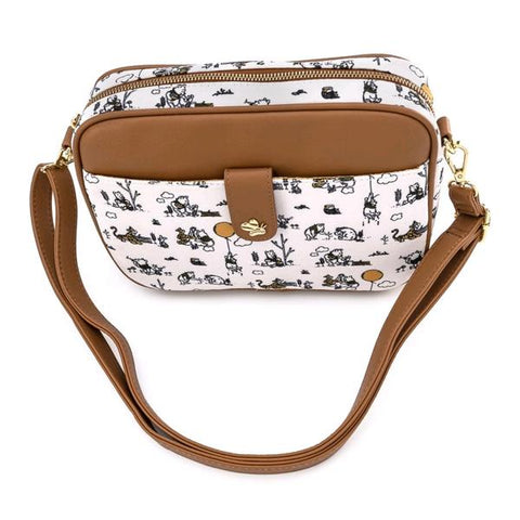 Loungefly - Winnie the Pooh Line Drawing Crossbody