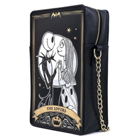 Loungefly - The Nightmare Before Christmas Tarot Card Passport Bag