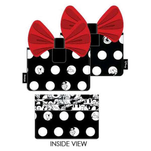 Loungefly: Mickey Mouse - Minnie Big Red Bow Card Holder