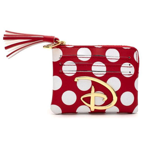 Loungefly: Disney Polka Dot Logo Purse
