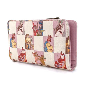 Loungefly - Disney Rose Checker Purse