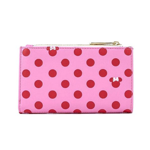 Loungefly - Mickey Mouse - Minnie Pink Polka Dot Purse