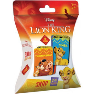 Disney The Lion King Snap Card Game