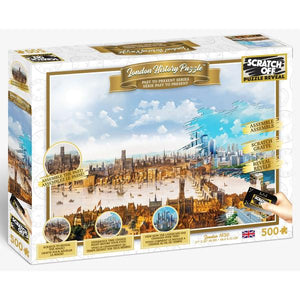 Scratch Off History Puzzle - London 500pc Puzzle