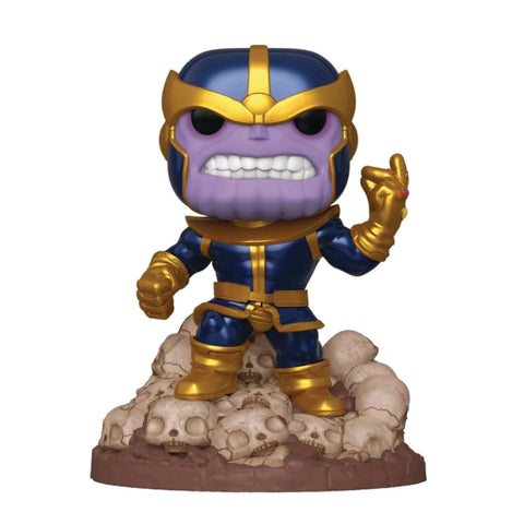 Marvel - Thanos Infinity Saga Metallic 80th Anniversary 6'' Pop! Vinyl