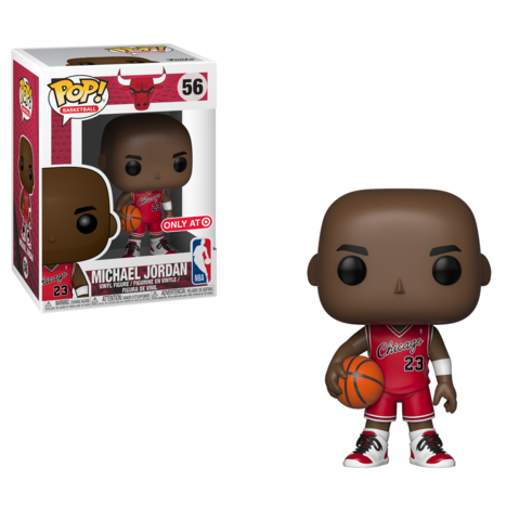 NBA: Bulls - Michael Jordan (Rookie) Pop! Vinyl