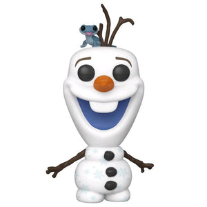 Frozen 2 - Olaf with Fire Salamander Pop! Vinyl