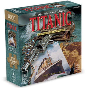 Murder on the Titanic Mystery Classic 1000pc Puzzle