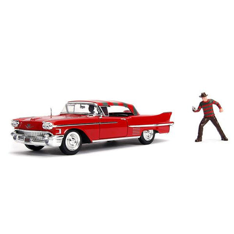 Nightmare on Elm Street - 1958 Cadillac s62 1:24 w/Fig