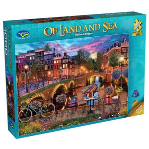 HOLDSONS OF LAND & SEA 2 HOLLAND BRIDGE 1000pc PUZZLE