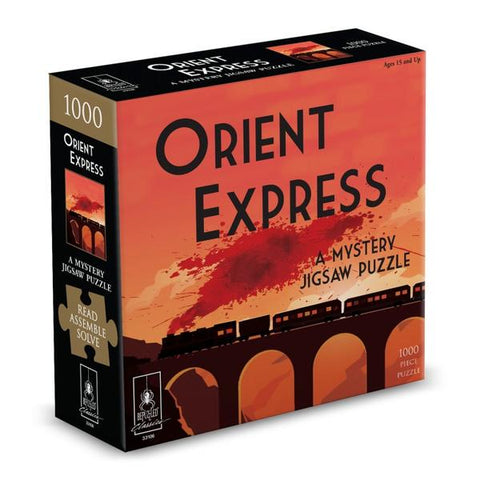 Orient Express Classic Mystery 1000pc Jigsaw Puzzle