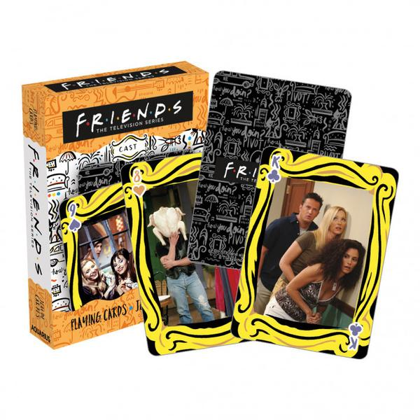 Playing Cards Friends Cast